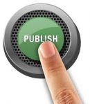 Published button being pushed