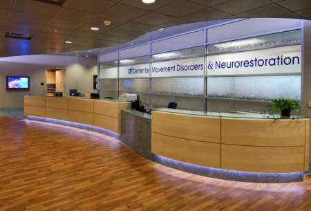 Interior picture fo Movement Disorders Clinic