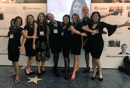 Photo of Ladies of AAN leadership including Dr. Irene Malaty.