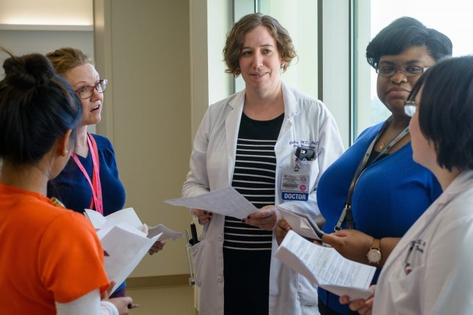 UF Health vascular neurologist Christina Wilson, MD, leads of team who care for patients at UF Health Shands Comprehensive Stroke Center.