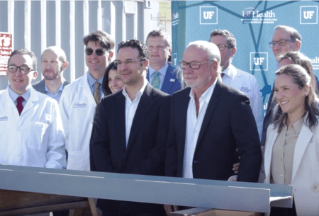 Photo of Doctors and Fixel's at beam signing
