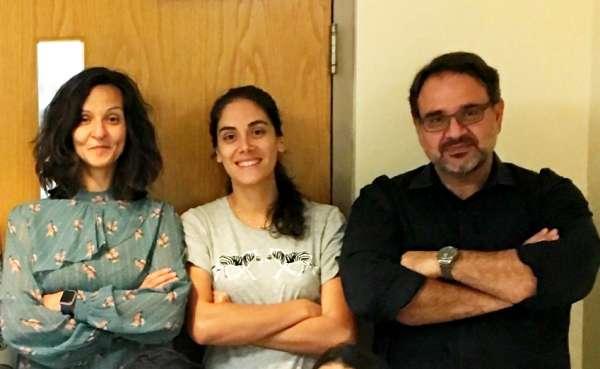 Drs. Basma Yacoubi, Agostina Casamento Moran and Evangelos A. Christou.