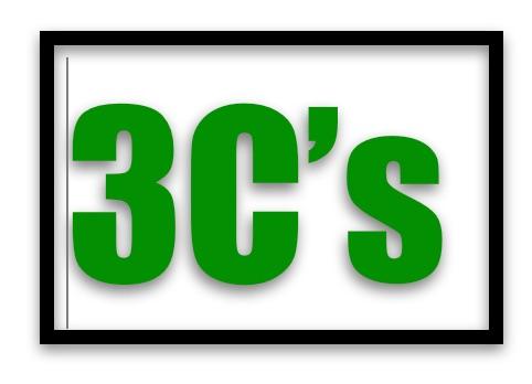 3 C's