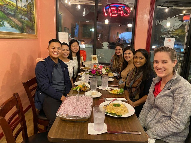 PGY2 at Restaurant