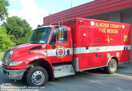 Alachua County Fire Rescue Ambulance