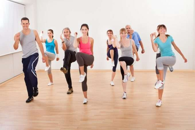 Photo of MS exercise class for MS