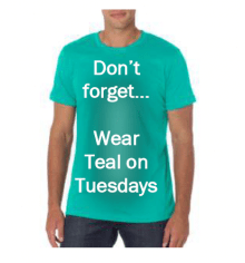 Wear Teal Tuesdays Tourette