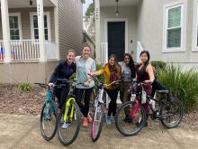 Residents Biking